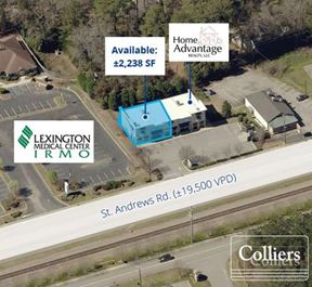 ±2,238 SF of Retail Space on St. Andrews Rd.