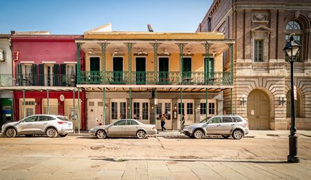 Iconic French Quarter Restaurant Building - New Orleans