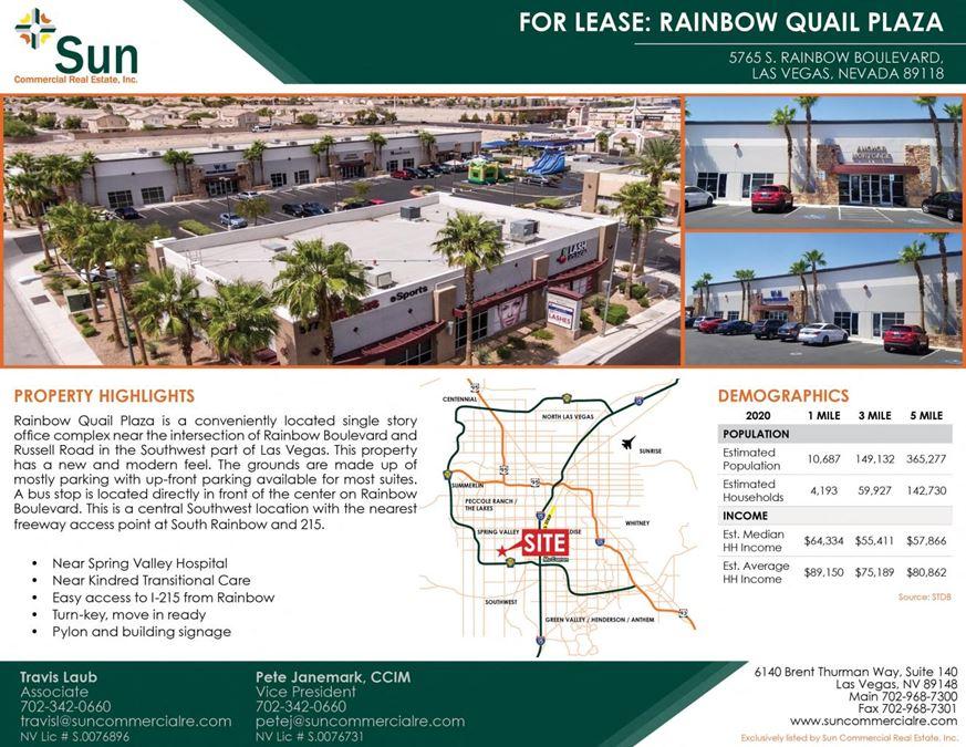 Rainbow Quail Plaza