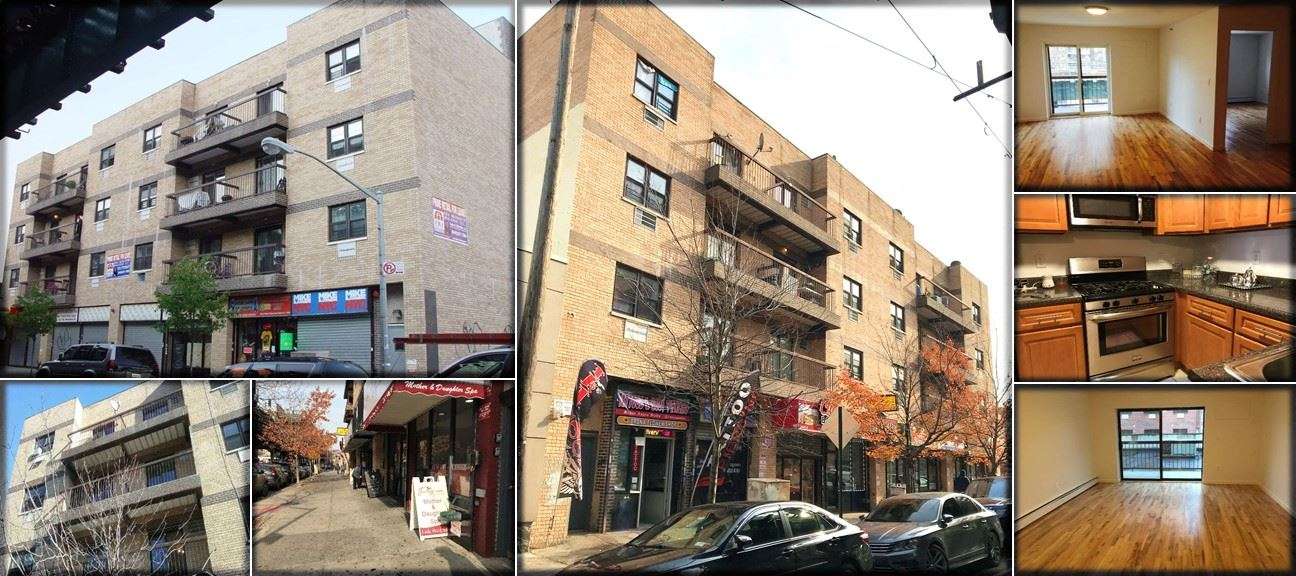 Own a 2008 Built Mixed-Use Building Just Off Allerton Avenue, On White Plains Rd. & Benefit from a 421a With Approximately 14 Years Left