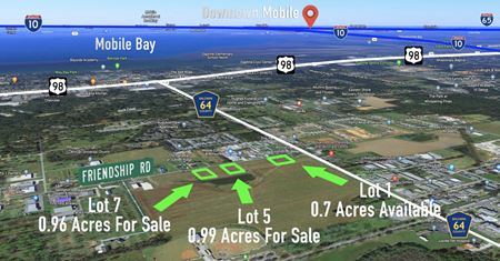 Lot 7: 0.96 Acres, County Road 64 and Friendship Road, Daphne, Alabama - Daphne