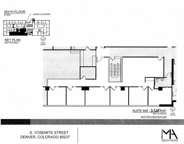2325 SF Professional and Medical Office Space in Denver, CO 80237