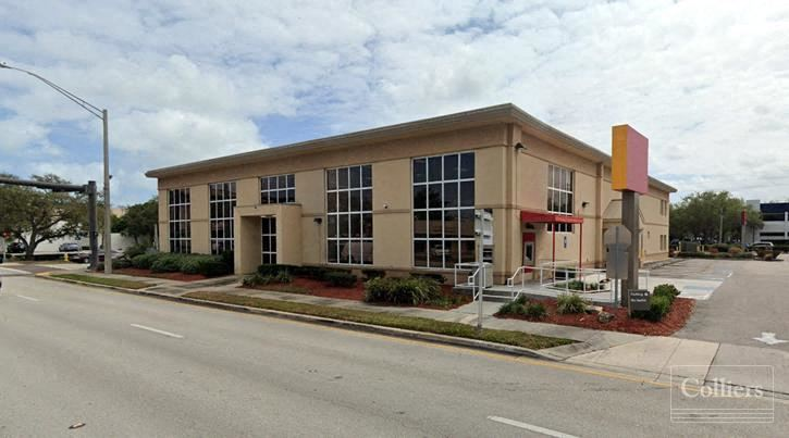 Free-Standing Commercial Building with Drive-Thru Lanes
