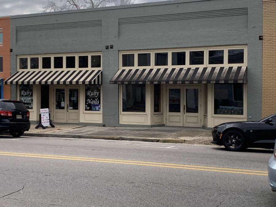 Retail/Office Space   Downtown Hattiesburg