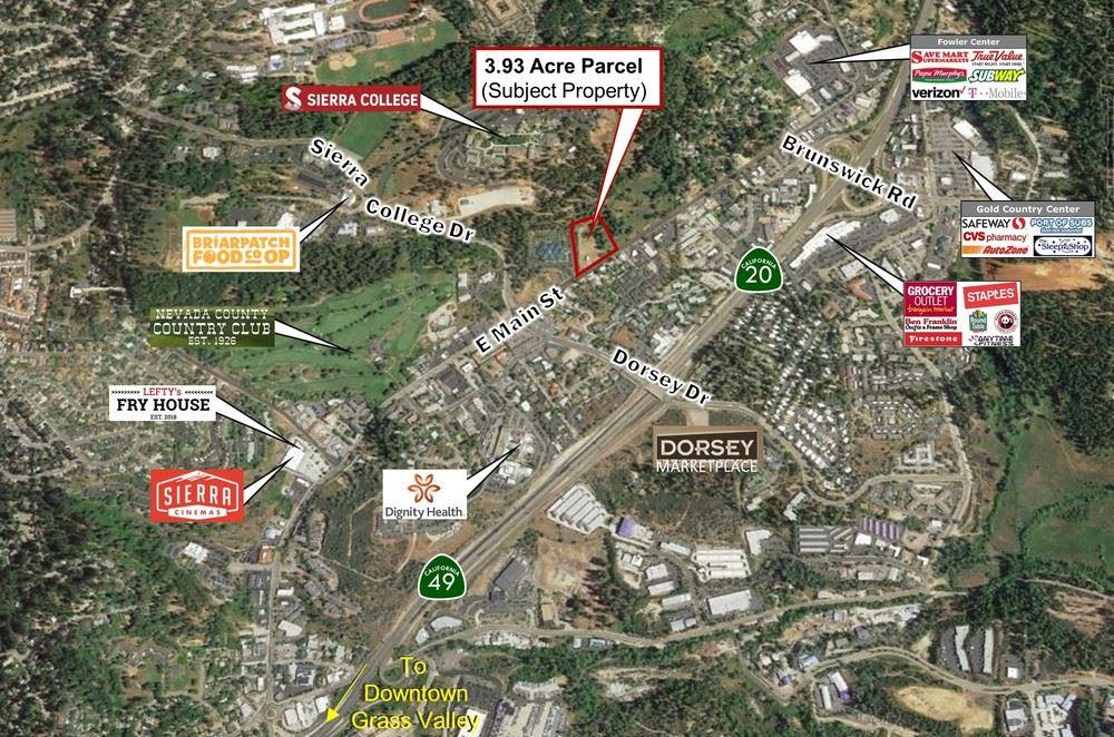 E Main St - One Parcel 3.93 Acres