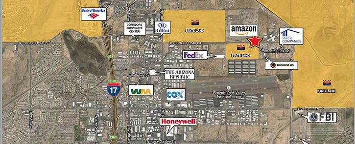 Land for Sale in Shovel Ready Business Park in North Phoenix