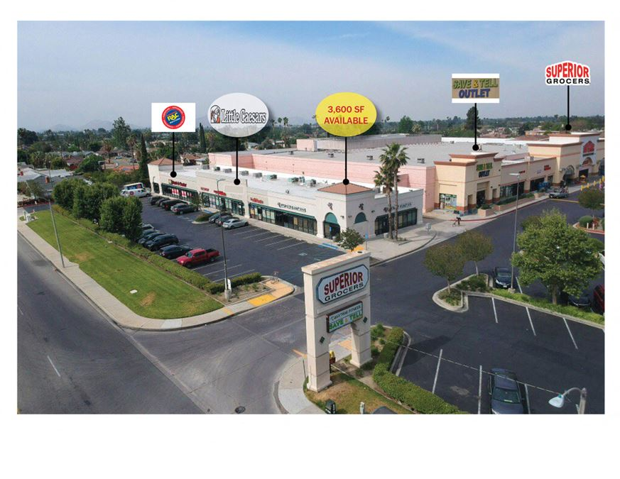 Shop Spaces in Superior Grocers Anchored Center