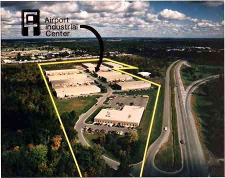 Ypsilanti Industrial Warehouse for Lease - Airport Industrial Center - Ypsilanti