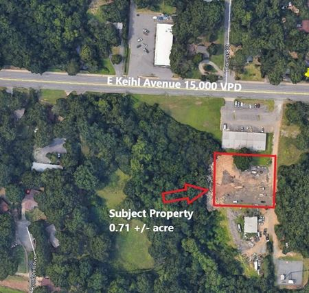 E Kiehl Avenue Commercial Development Lot - Sherwood