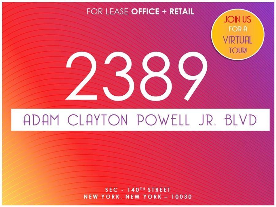 2389 Adam Clayton Powell