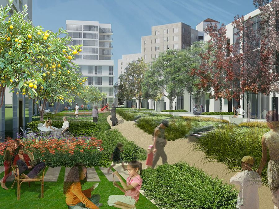 0.83 Acre Opportunity Zone ALF Development Land in ROBLES PARK REVITALIZATION ZONE!