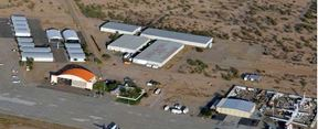 Industrial and Hangar Buildings for Sale or Lease at Coolidge Airport