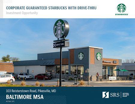 Pikesville, MD - Starbucks - Pikesville