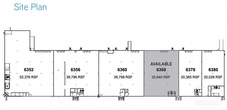 30,640 SF Unit Available for Lease in Niles