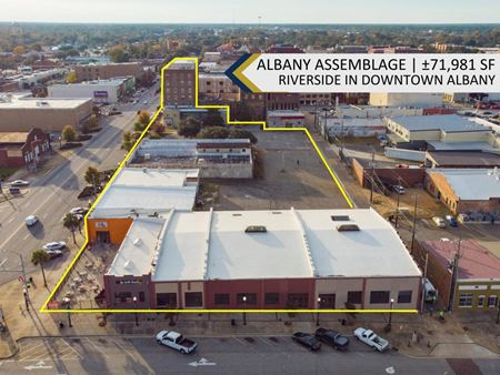Albany Assemblage | Mixed-Use Redevelopment Opportunity | Riverfront District | ±75,891 SF - Albany