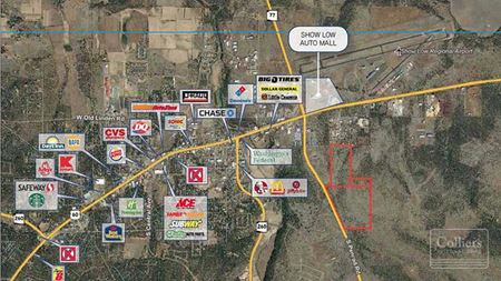 Three Land Parcels for Sale in Show Low - Show Low
