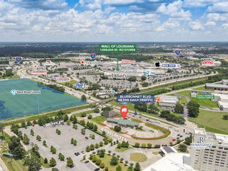 Standalone Retail on Bluebonnet Blvd Hard Corner - Baton Rouge