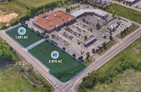 2 Parcels - Next to Kroger Available for Sale - Cordova