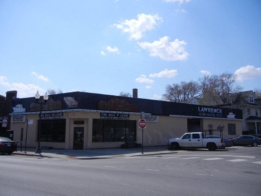 Prime Development Site at Corner of Lincoln and Waveland