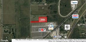 15.4 Acres of Land with Warehouse & Stabilized Yard in Crosby
