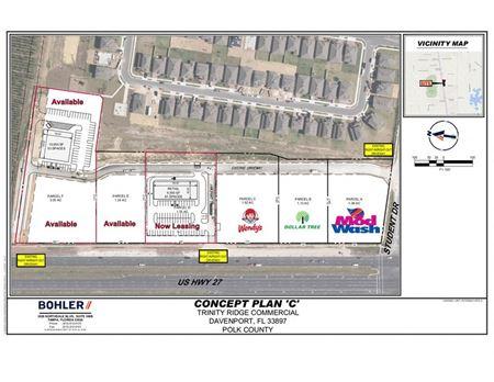 Trinity Plaza Now Leasing Strip Center! - Davenport