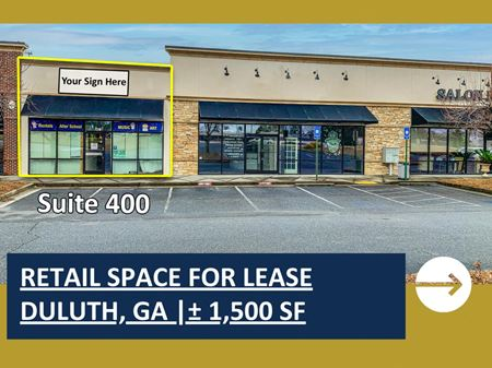 Retail Space For Lease In Duluth | ± 1,500 SF - Duluth