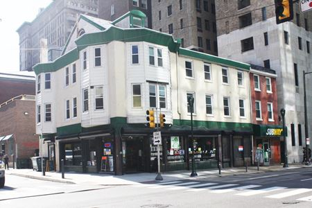 Corner Center City Retail Space Available - Philadelphia