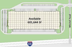 Planned 601,644 SF New Construction Building for Lease or Build-to-Suit