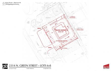 Retail site | 2314 N. Green Ave  Purcell, OK - Purcell