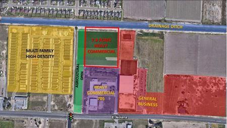 7.90 acres of Light Industrial land in Pharr, TX - Pharr