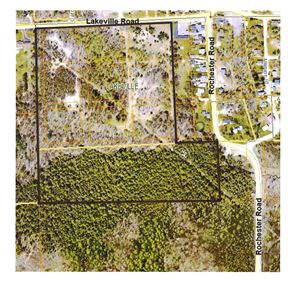 Approximately 32 Acres Vacant Land For Sale, Addison Twp.,, MI