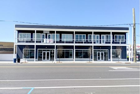 Newly constructed retail - office building - Asbury Park