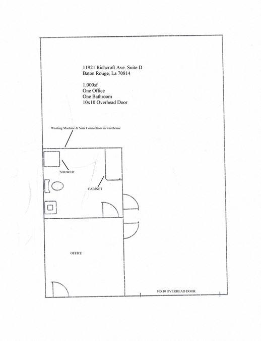 11921 Richcroft Ave Suite D