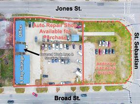 Downtown Automotive Shop w/ Great Visibility - Augusta