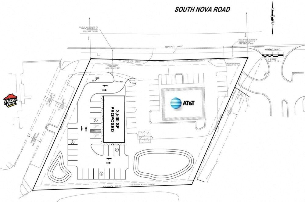 Nova Road Outparcel For Sale or Ground Lease