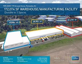 174,074 SF Warehouse and Manufacturing Facility