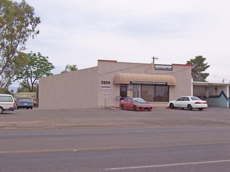 1st Avenue North of Grant - Tucson