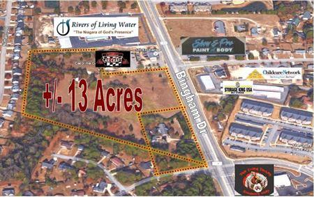 13.63 Acres on Bingham Dr - Fayetteville
