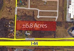 ±6.8 Acres For Sale - N. Kansas & I-44 - Springfield