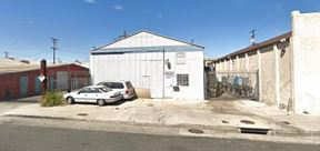 +/-2,160 SF Industrial Building available for Lease - Long Beach