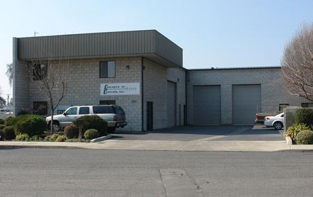 100% Concrete Block Office/Warehouse Building Available - Visalia