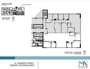 2496 SF Professional and Medical Office Space in Denver, CO. 80237