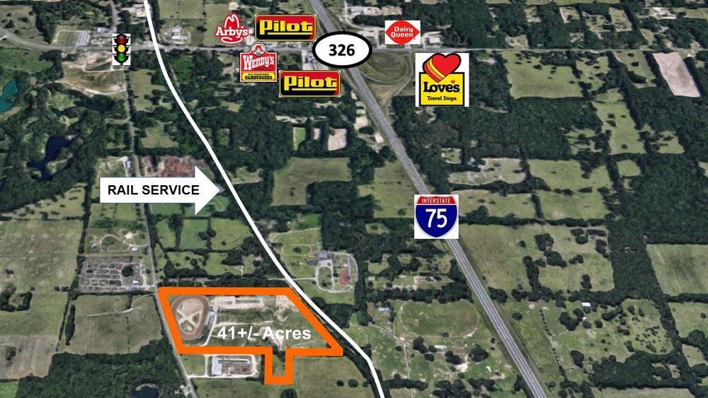 41+/- Acres Commercial Rail Access