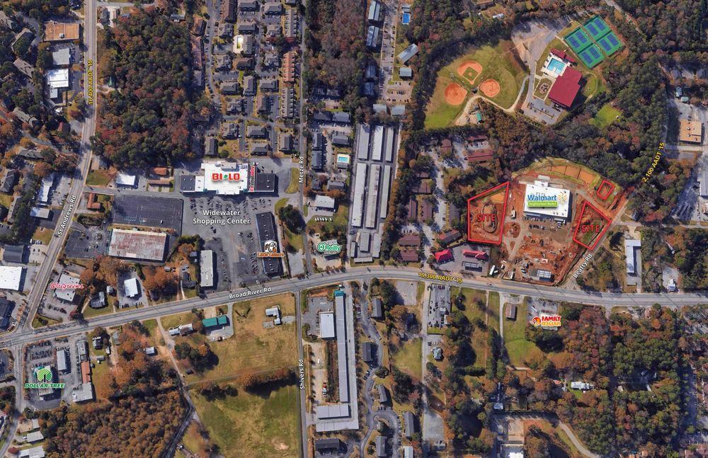 Columbia, SC Walmart Neighborhood Market Outparcels