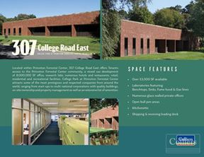 Laboratory Building: College Park At Princeton Forrestal Center
