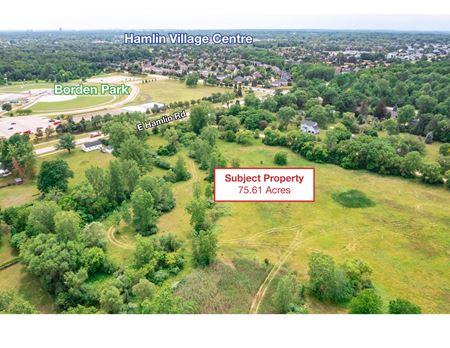 E. Hamlin Rd & School Rd - Rochester Hills