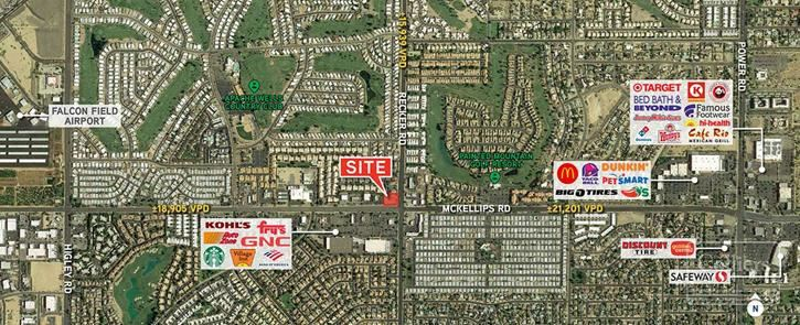 Retail Pad for Sale in Mesa