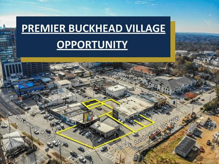 Premier Buckhead Village Opportunity | 5 Buildings | 0.63 Acres - Atlanta
