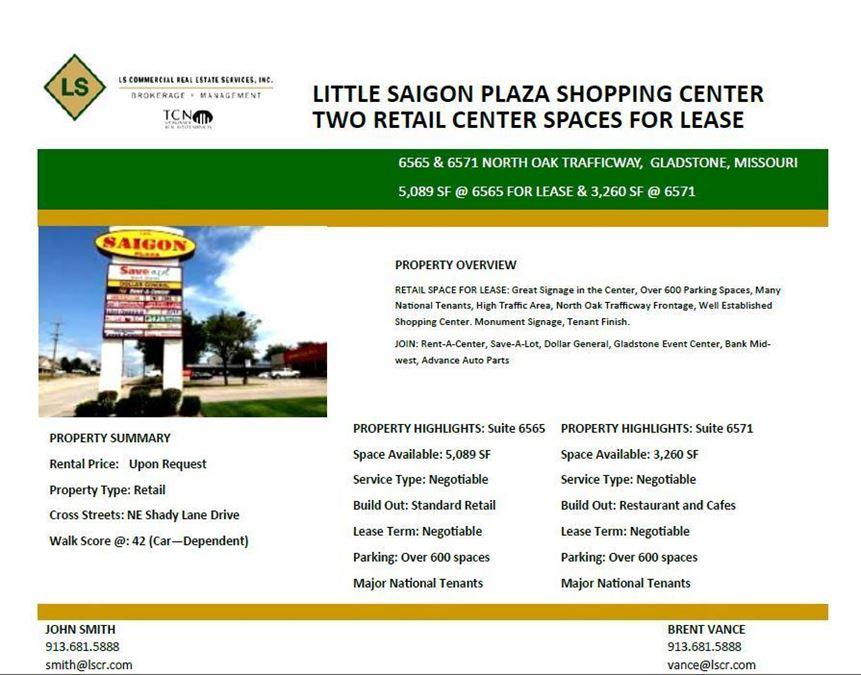 Little Saigon Plaza Shopping Center