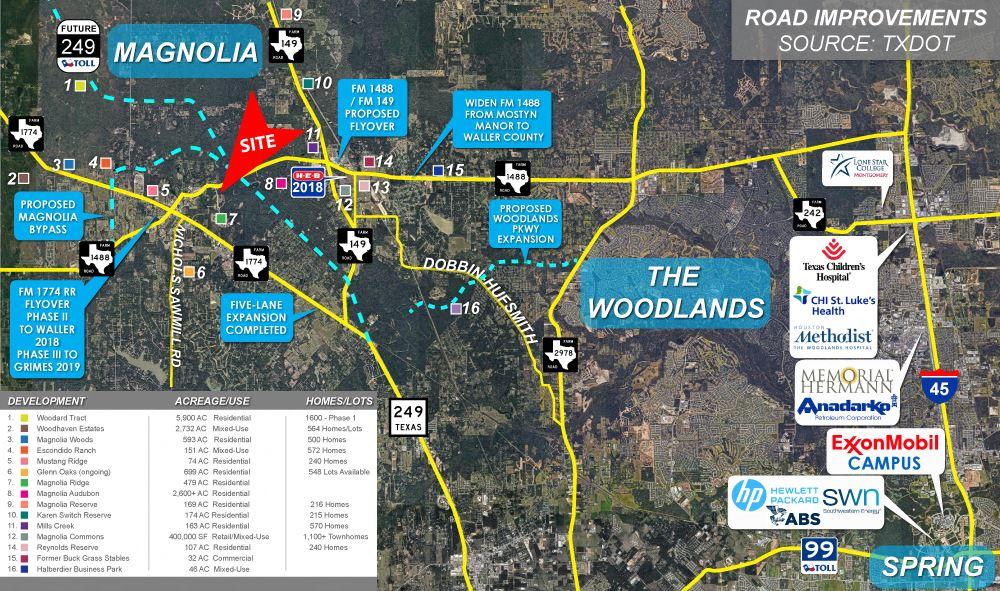 2.58 Acres FM 1488 Magnolia Ridge